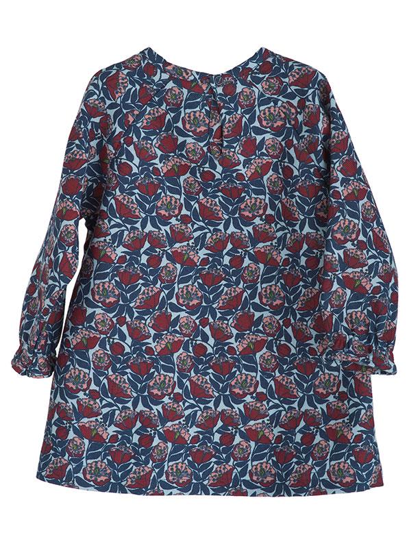 Rochiță cu model flori fermecate