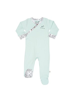 Costum bebeluși turcoise
