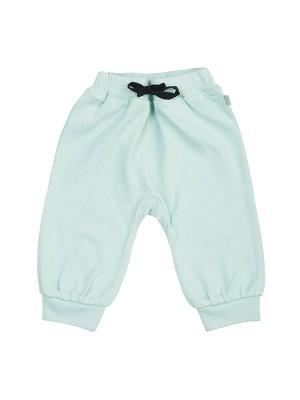 Pantaloni bebeluși turcoise