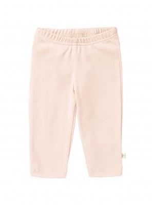 Pantaloni bebeluși 6-12 luni, din bumbac organic, model rose