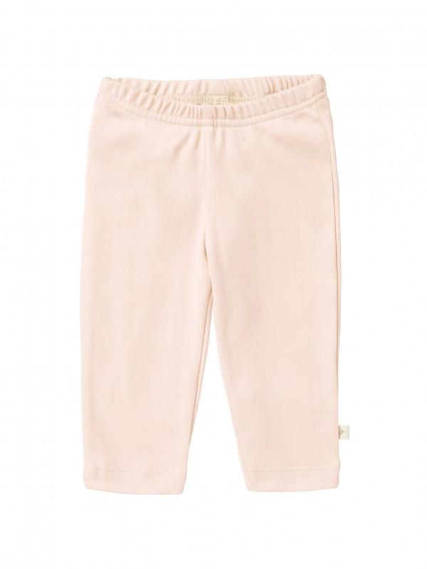 Pantaloni bebeluși 3-6 luni, din bumbac organic, model rose