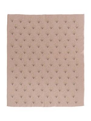 Pătură Fine Knitted, din bumbac organic, cu model Dandelion