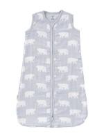 Sac de dormit de muselină, 12-18 luni, model Polar bear