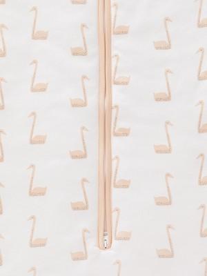 Sac de dormit gros, model Swan Pale Peach, 70 cm