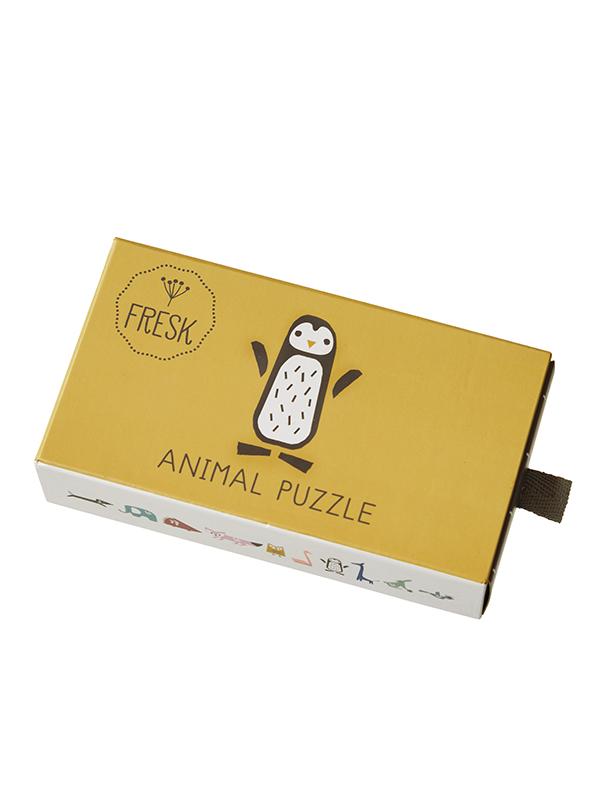Puzzle cu animale Fresk