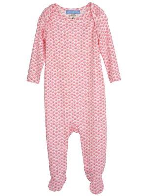 Pijama bebeluși, model scoici