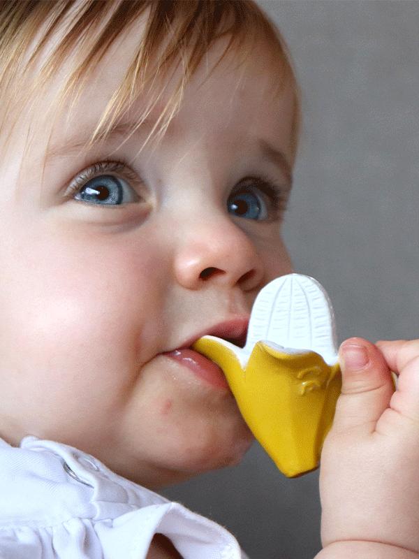 Anita, bananita, jucarie pentru dentiție chewy-to-go