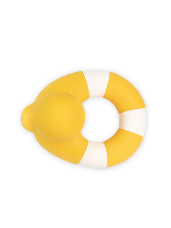 Flo, rățușca salvatoare, galbenă, jucărie pentru baie și dentiție