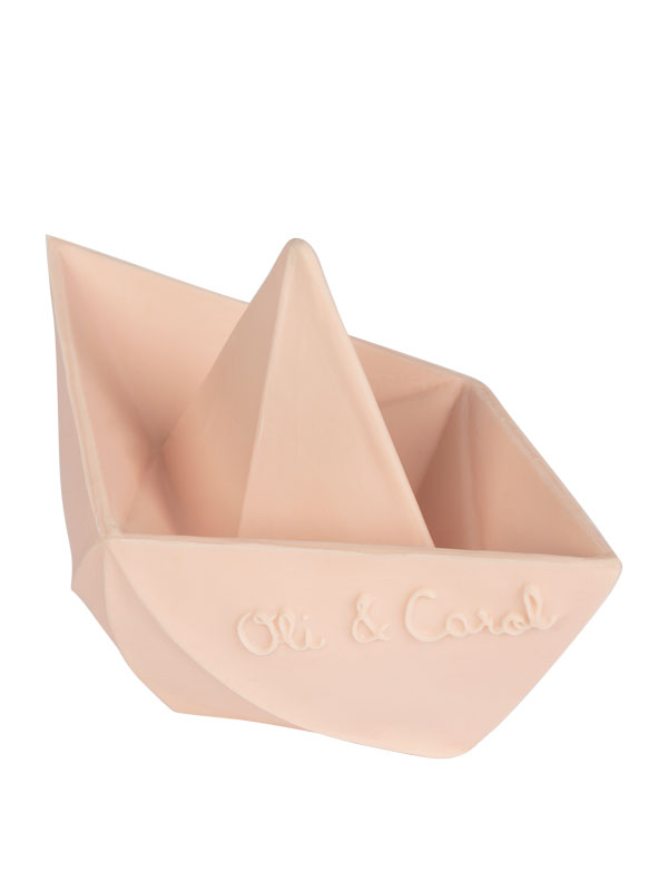 Bărcuță Origami, nude, jucărie pentru baie
