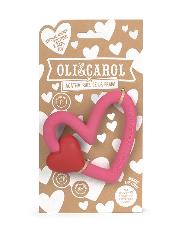 Oli&Carol x Agatha Ruiz de la Prada, jucărie pentru dentiție
