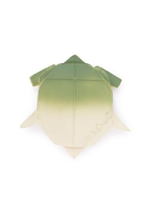 Broască țestoasă Origami, jucărie din cauciuc natural
