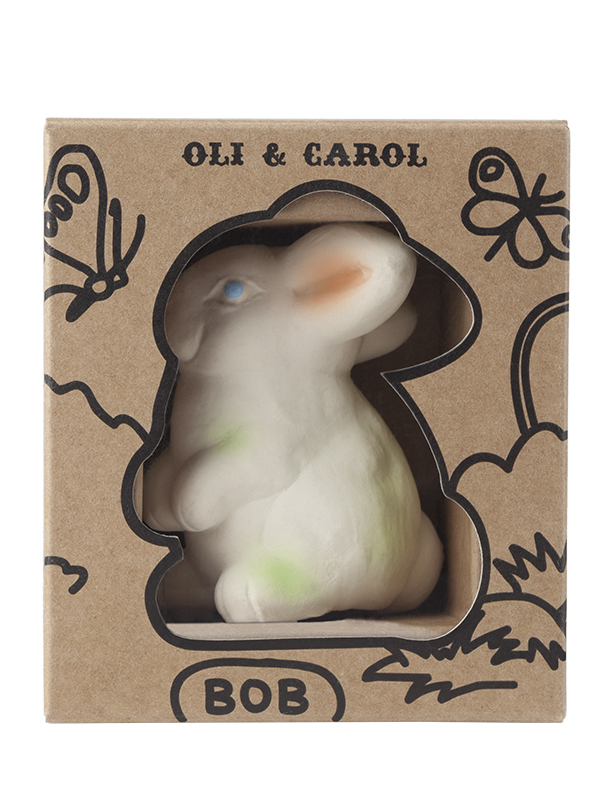 Iepurașul Bob, jucărie din cauciuc natural
