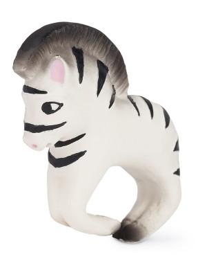 Zebra Zoe, brățara dentiție din cauciuc natural