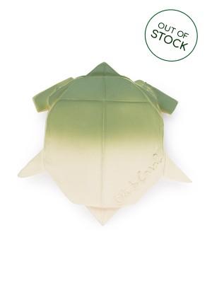 Broască țestoasă H2Origami, jucărie din cauciuc natural