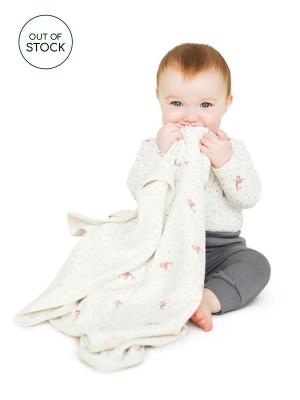 Păturică bebeluși cu model căprioară