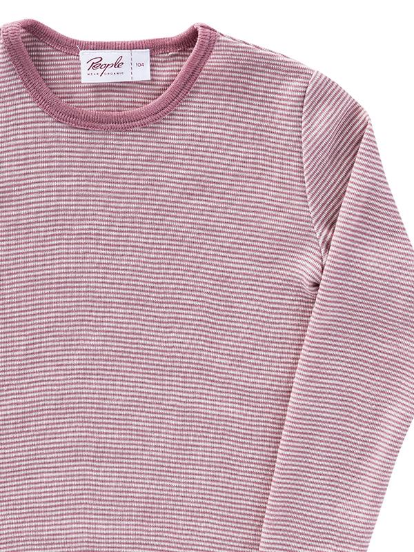 Bluză roz, din lână și mătase