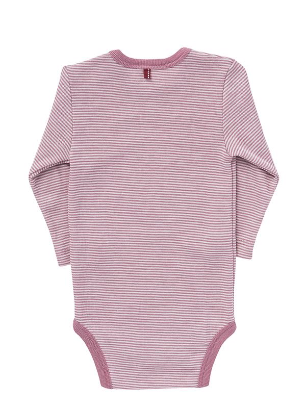 Body roz, din lână și mătase (mărime mare)