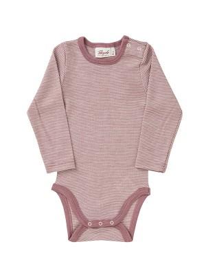 Body cu dungi roz, din lână și mătase