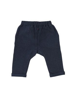 Pantaloni de trening grosuți, din bumbac organic bleumarin