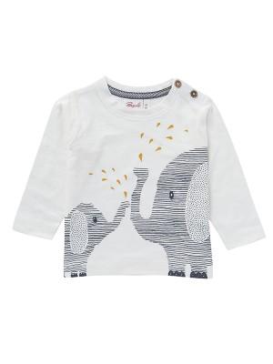 Bluză de vară, cu bebefant, din bumbac organic