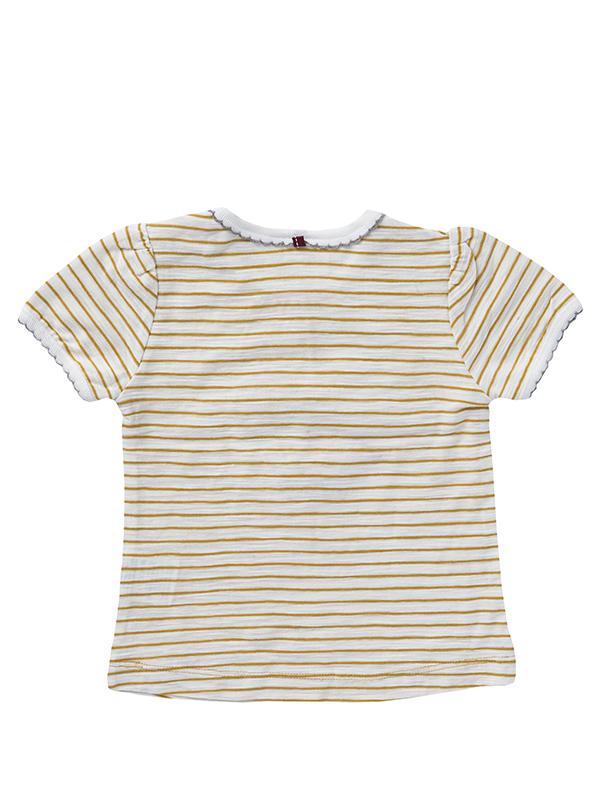 Tricou fetițe, cu bebefant, din bumbac organic
