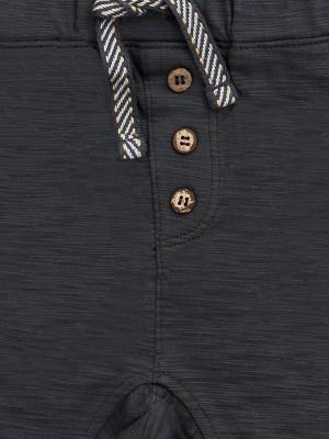 Pantaloni lejeri de vară, gri, pentru băieței, din bumbac organic