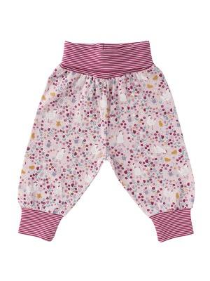 Pantaloni fetițe, Puișorul mamei, din bumbac organic