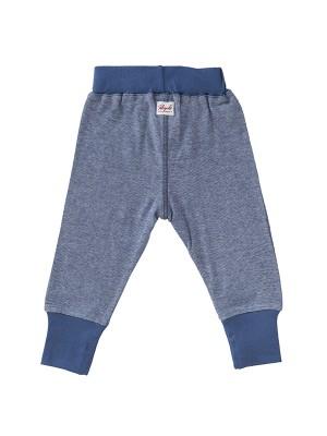 Pantaloni comozi albaștri, din bumbac organic
