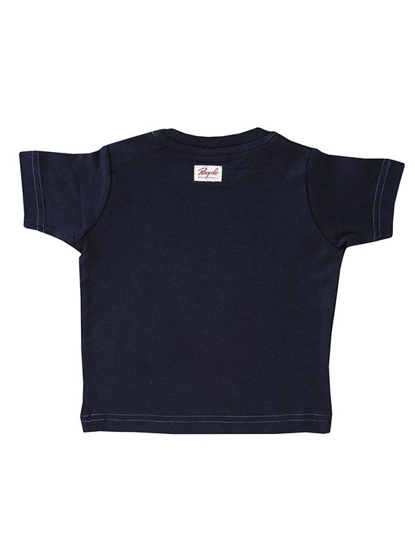 Tricou cu focă zâmbitoare, din bumbac organic