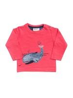 Bluză din bumbac organic, în aventură cu Moby Dick
