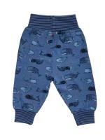 Pantaloni comozi, din bumbac organic, aventură în ocean