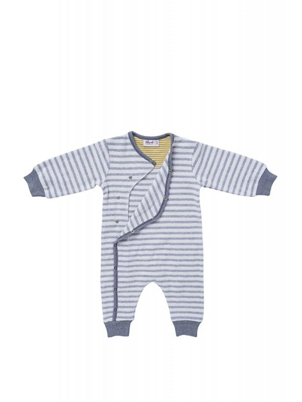 Costum gros pentru bebeluși, din bumbac organic