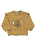 Bluză de trening, cu aventurierul Koala, din bumbac organic