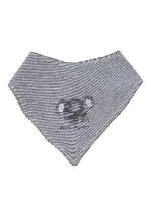 Eșarfa aventurierului Koala, din bumbac organic