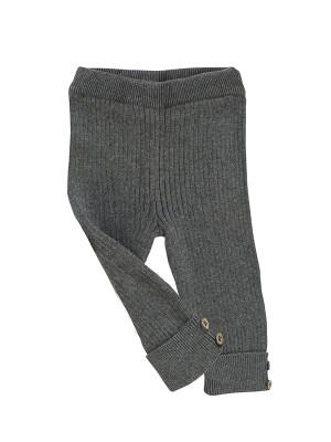 Pantalonii aventurierului, gri, din bumbac organic