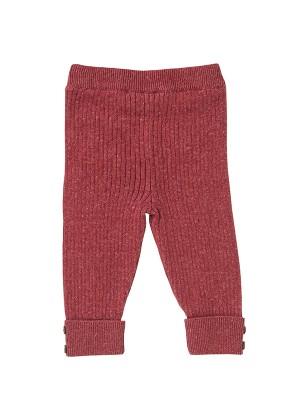 Pantalonii împletiți ai Scufiței, din bumbac organic