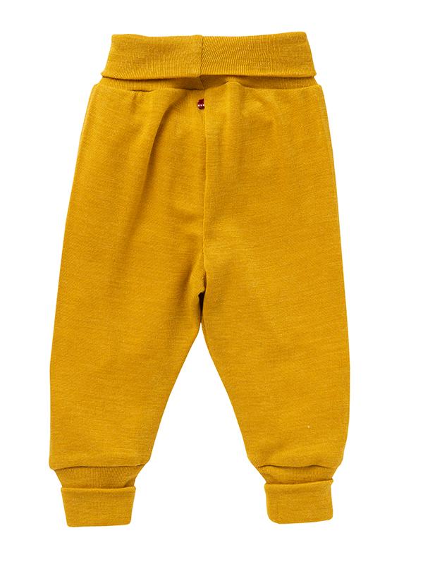 Pantaloni lână și mătase, muștar