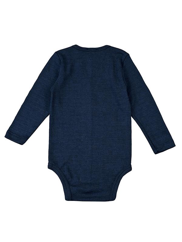 Body lână și mătase, bleumarin