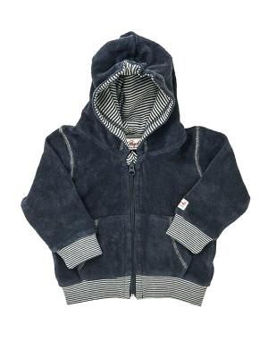Jachetă din catifea bleumarin