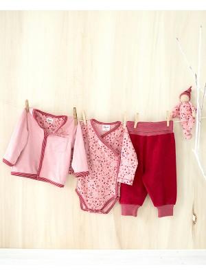 Pantaloni din catifea roșie