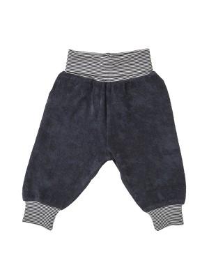 Pantaloni din catifea bleumarin