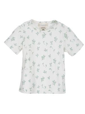 Tricou, cu model crenguțe