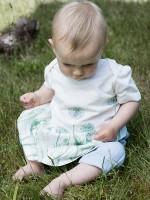 Rochiță comodă, cu model albăstrele
