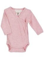 Body bebeluși roz, din bumbac organic